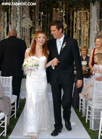 Alyson Hannigan alexis denisof wedding