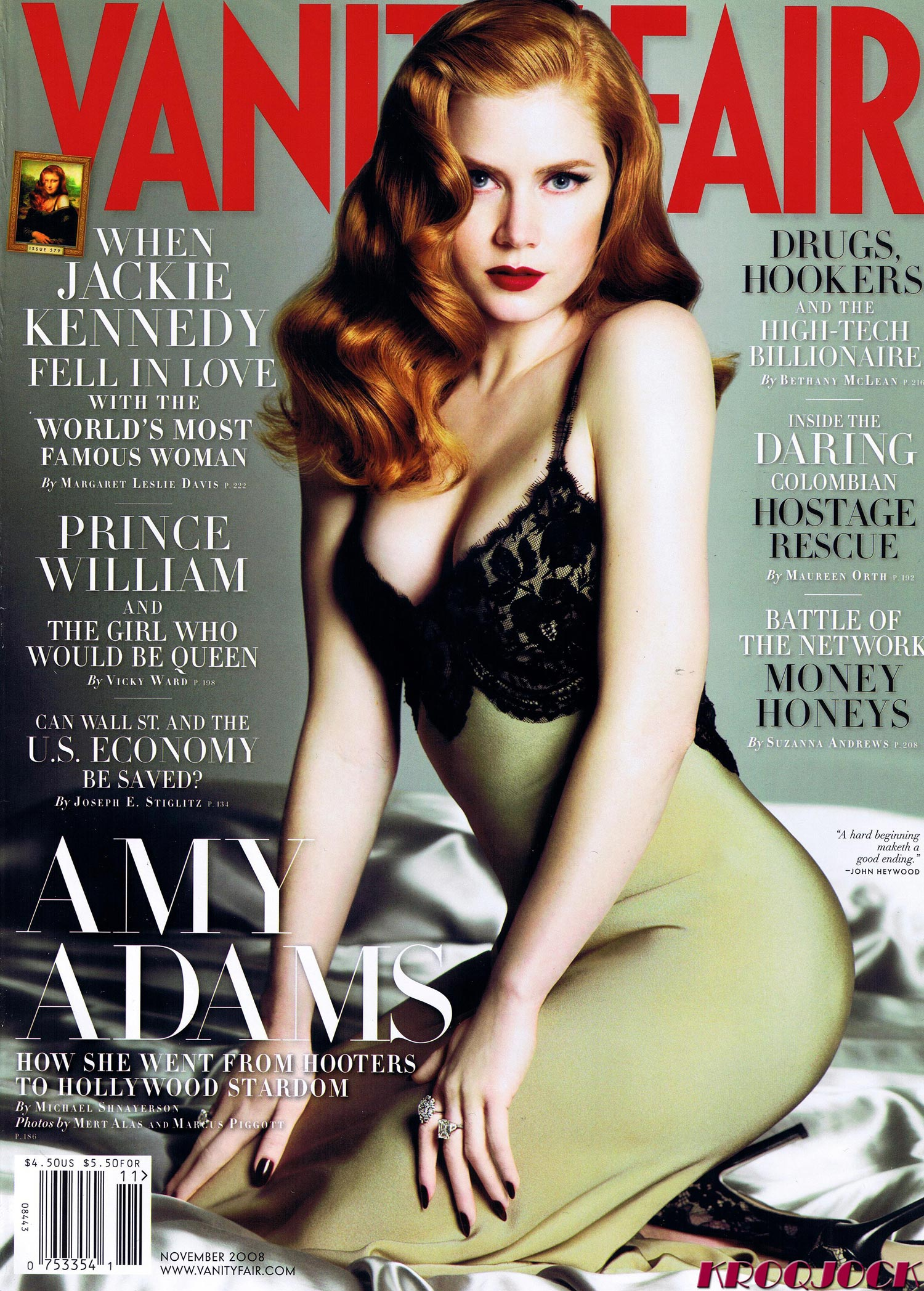 Delightful Amy Adams   Vanity Fair Magazine November 2008   High Quality Scans    Gallery