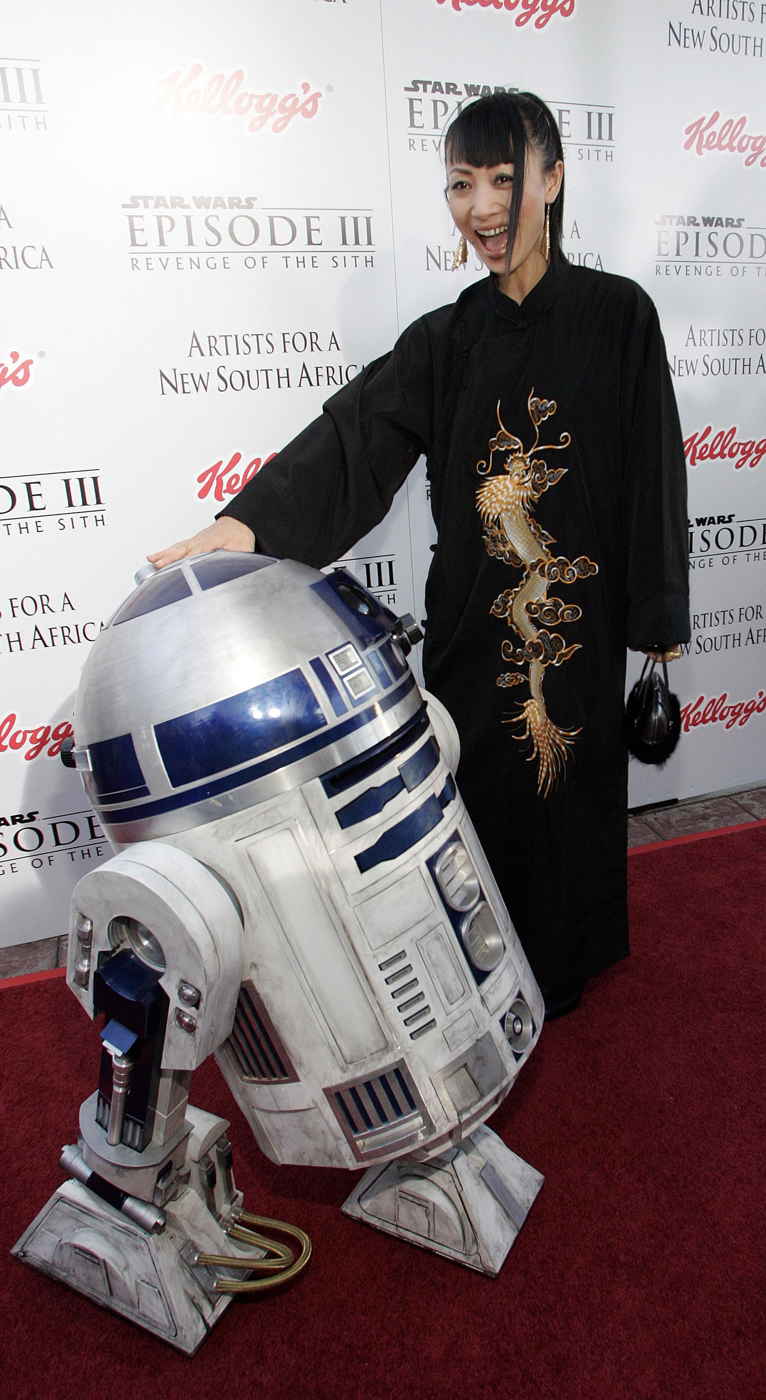 Bai ling star wars exposed toons