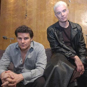David Boreanaz & James Marsters - 18.5 ko