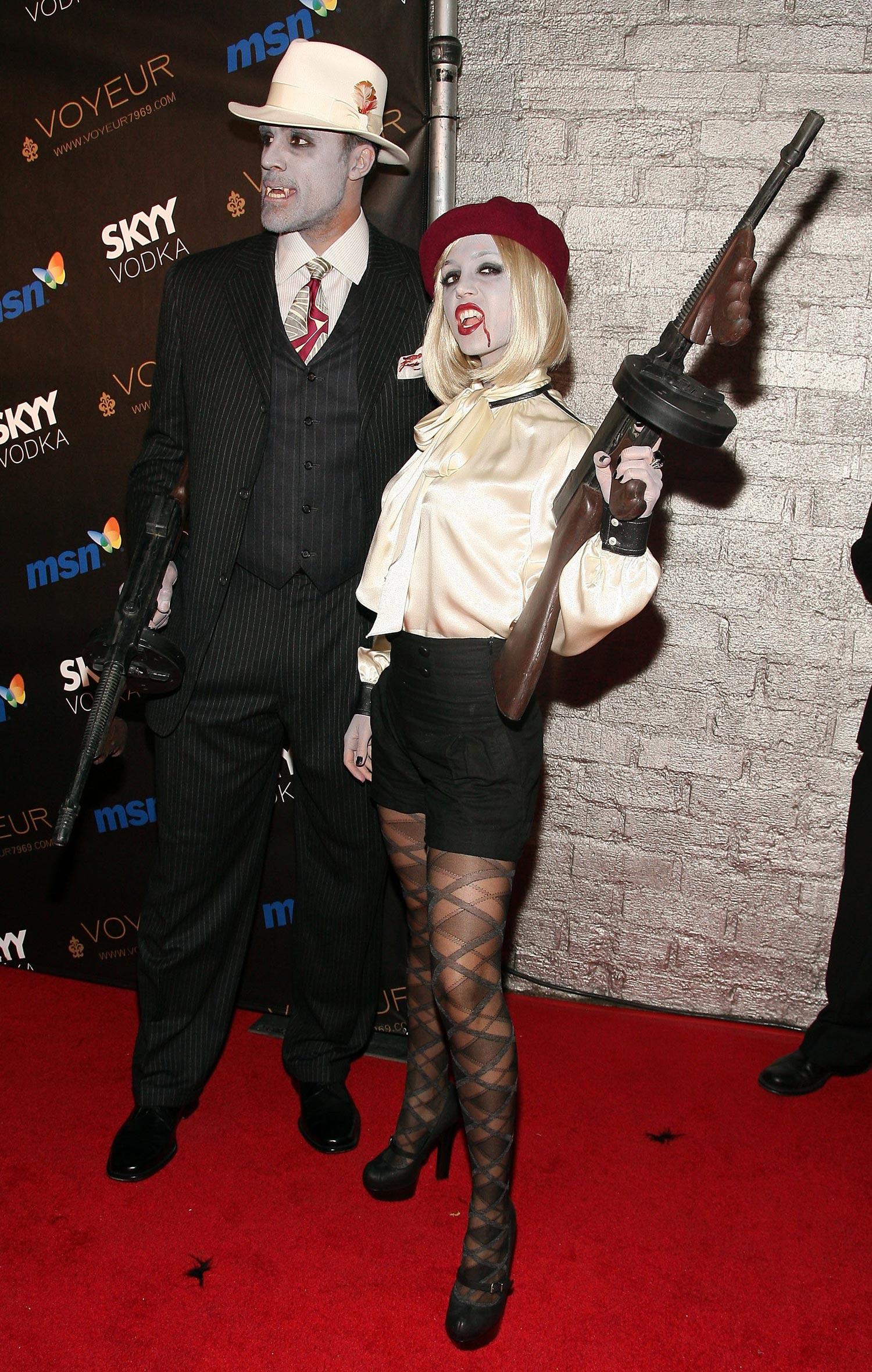 Eliza Dushku - Heidi Klum 2009 Halloween Party - High Quality ...