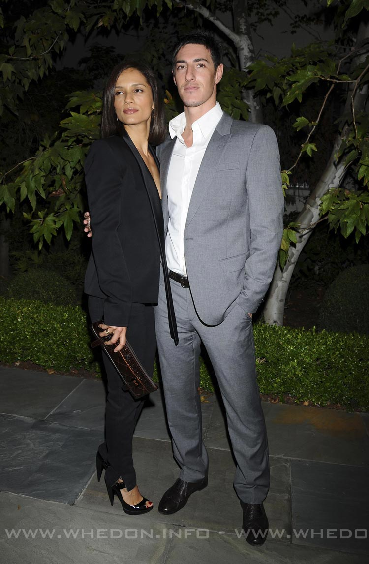 Leonor Varela And Eric Balfour Leonor Varela And Eric Balfour
