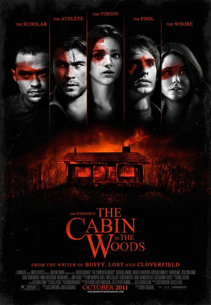 Joss Whedon The Cabin In The Woods Movie Fan Made Poster