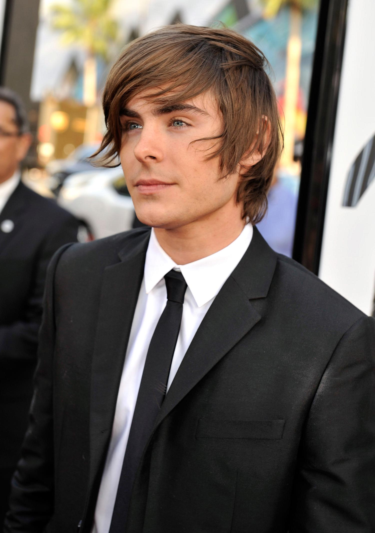 Zac Efron  Again Movie Los Angeles Premiere High